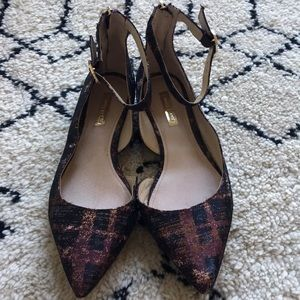 Cute flats with buckle